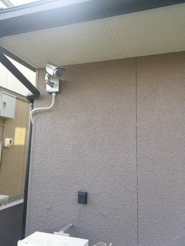 玄関周り・駐車場まで監視